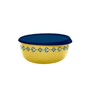 Tupperware Tigela Toque Mágico Arabesco 550ml Amarelo