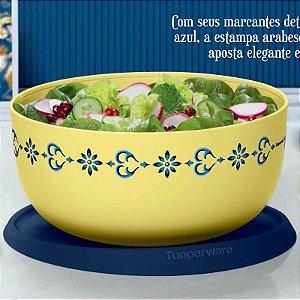 Tupperware Tigela Toque Mágico Arabesco 4,3 litros Amarelo