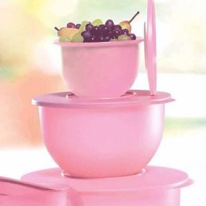 Tupperware Tigela Murano 1,3 litros Rosa Quartzo