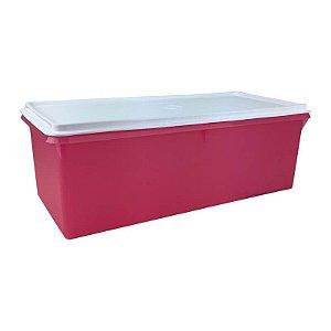Tupperware Mega Caixa 6 litros Rosa