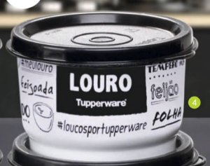Tupperware Potinho Tempero PB Louro 140ml