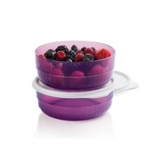 Tupperware Premier Tigela Pequena 500ml Policarbonato Roxa