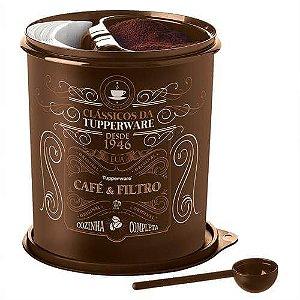 Tupperware Caixa Café e Filtro Clássico