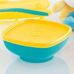 Tupperware Tigelinha Infantil Azul Kit 2 Peças