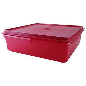 Tupperware Caixa Versátil 2,5 Litros Vermelha