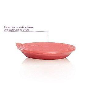 Tupperware Tigela Elegância 1,5 litro Coral Policarbonato