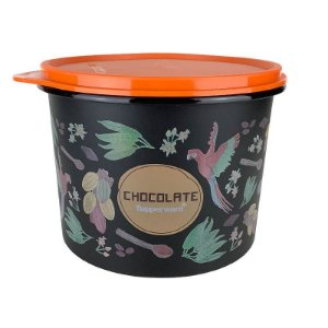 Tupperware Caixa Chocolate Floral 1,3kg