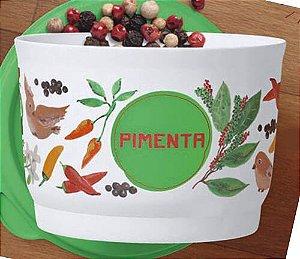 Tupperware Potinho Floral Pimenta 140ml