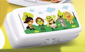 Tupperware Porta Sanduíche Retangular KouKou Shrek