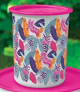 Tupperware Super Instantânea Slim Flamingo Tropical 2,25 litros