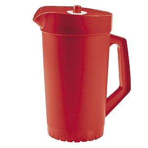 Tupperware A Jarra 2 Litros Vermelho