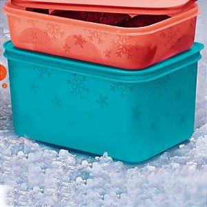 Tupperware Freezer Line 2,5 litros Verde Água