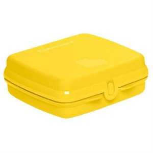 Tupperware Porta Sanduíche Amarelo