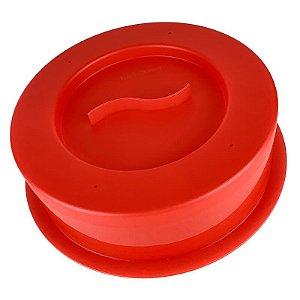 Tupperware Tampa para Micro-Ondas Vermelha
