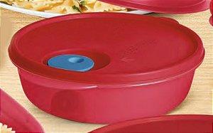 Tupperware Cristalwave 1 litro Vermelha