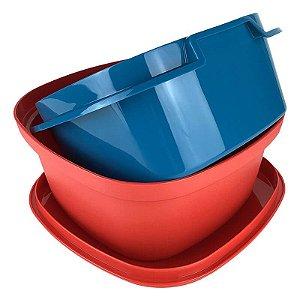 Tupperware Múltipla 2,5 litros Vermelha
