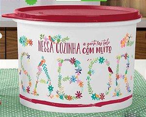 Tupperware Caixa Amor e Sabor 2,4 litros