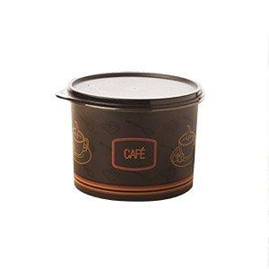 Tupperware Caixa Café 700g Preto