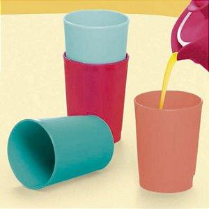 Tupperware Mini Copinhos Colors 4 peças