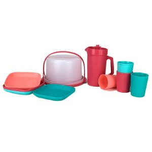 Tupperware kit Miniaturas 10 peças