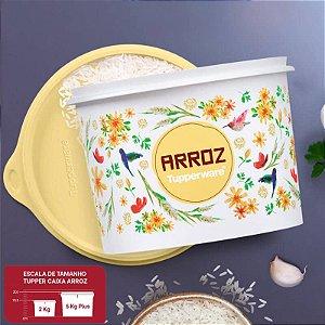 Tupperware Caixa Arroz Floral 2kg