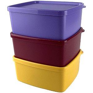 Tupperware Jeitosinho kit 3 Peças