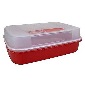 Tupperware Porta Medicamento Grande 2,3 litros Vermelho