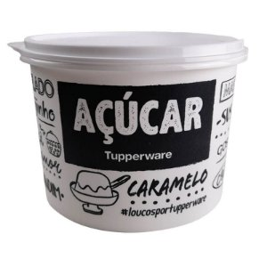 Tupperware Caixa Açúcar PB 1,4kg tampa Branca