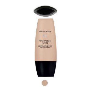 Nutrimetics Base Líquida Mineral Matte 30ml Butterscotch Bege Claro