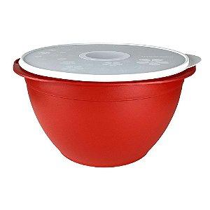 Tupperware Tigela Actualité 10 Litros Vermelha