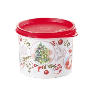 Tupperware Redondinha 500ml Natal