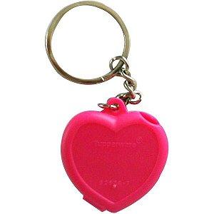 Tupperware Chaveiro Coração Rosa