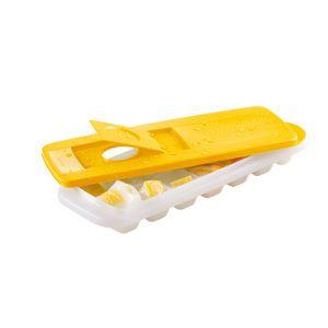Tupperware Forma de Gelo 14 Cubos Amarela