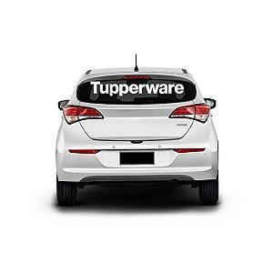 Adesivo Tupperware de Para-brisa Carro Kit 2 peças