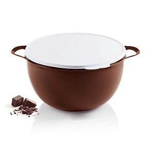Tupperware Mega Criativa 10 Litros Chocolate