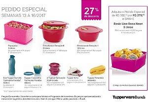 Tupperware Pedido Especial kit 9 peças + 1 grátis