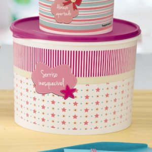 Tupperware Caixa Scrapbook 5,5 Litros