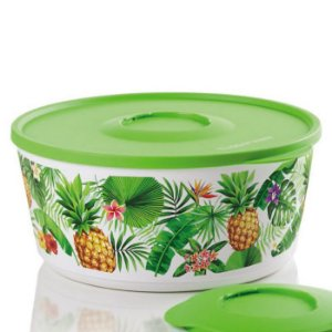 Tupperware Tigela Ilúmina Tropical 4,3 Litros Verde
