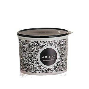 Tupperware Caixa Arroz 5 kg Feras na Cozinha Animal Print