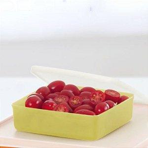 Tupperware Refri Box 400ml Amarelo