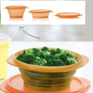 Tupperware Mini Max Redonda 950ml Laranja