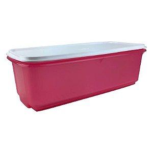 Tupperware Super Caixa 4,3 litros Rosa Pink