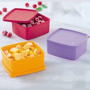 Tupperware Jeitosinho 500ml kit 3 peças