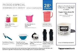 Tupperware Pedido Especial 07/2017 kit 9 peças + 1 grátis