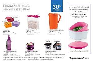 Tupperware Pedido Especial 08/2017 kit 9 peças + 1 grátis