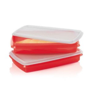 Tupperware Refri Box 750ml Vermelho
