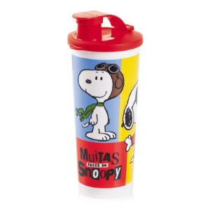 Tupperware Copo com Bico Snoopy 470ml