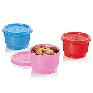 Tupperware Potinho 140ml kit 3 peças