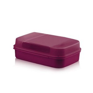 Tupperware Visual Box Grande Merlot 2,3 litros