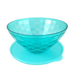 Tupperware Tigela Prisma 2 litros Azul Água